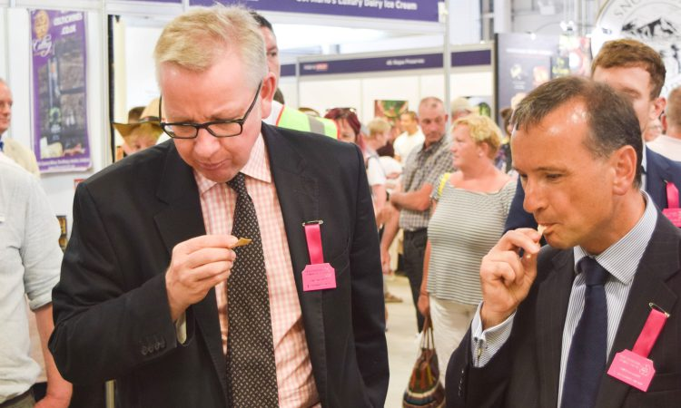 Royal Welsh: Defra Secretary hails the success of Welsh food and farming sector