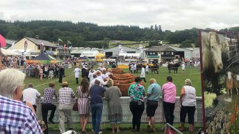 Royal Welsh silver medals awarded to 2 society stalwarts