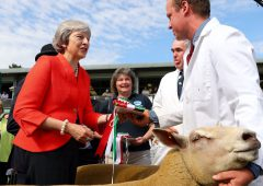 May depature: Farming's reaction to PM's resignation