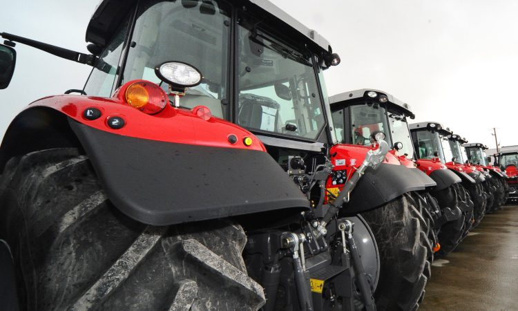 New tractor sales get a July boost in the UK