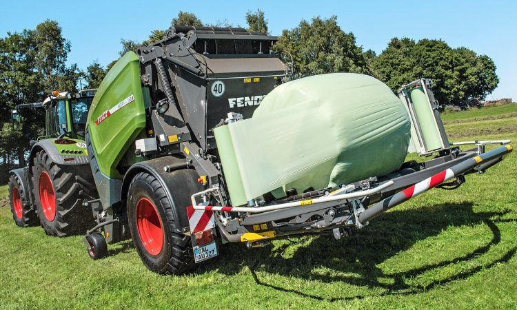 Fendt to fight for a chunk of 'combi' baler-wrapper sales
