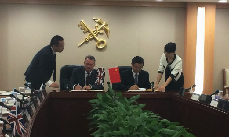 Trade Secretary secures £240 million Chinese deal for UK dairy