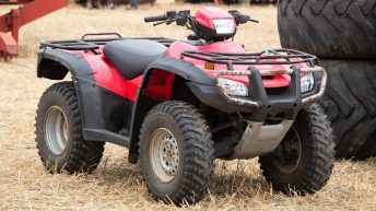 Bike thefts: Weekend raiders break into sheds and steal 4 quads in a night
