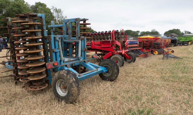 Auction report: Bids aplenty for tillage machinery at 'on-site' sale