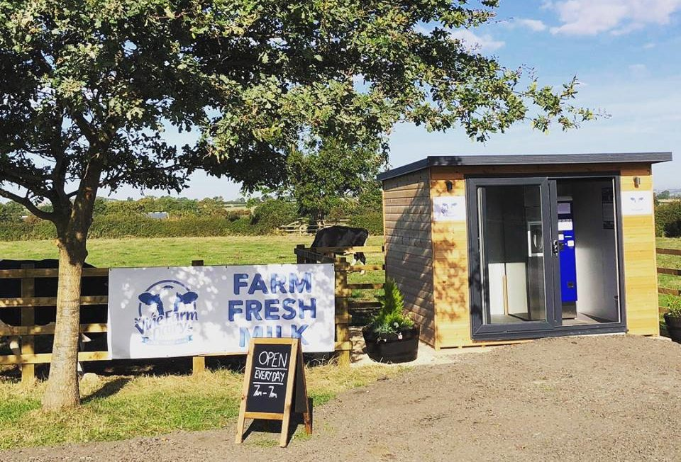 Fancy some farm-fresh milk…from a vending machine