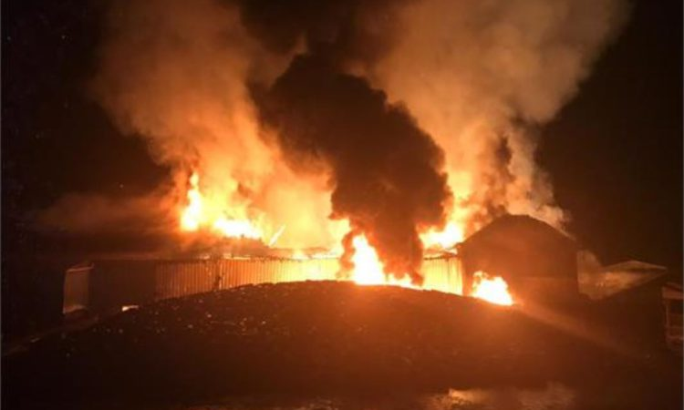 Praise for officers who responded swiftly to farm fire