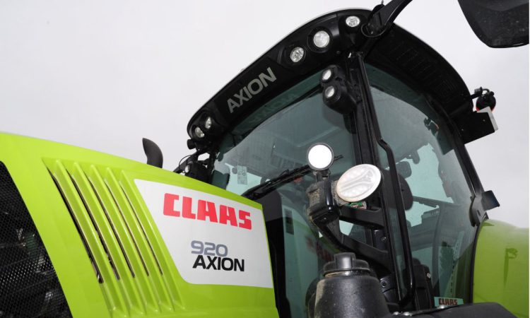 Claas takes its tractors out to the front line