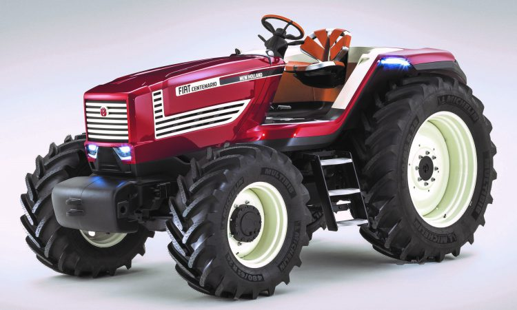 Unveiled: Fiat 'concept' tractor brings the 90 Series back to life…
