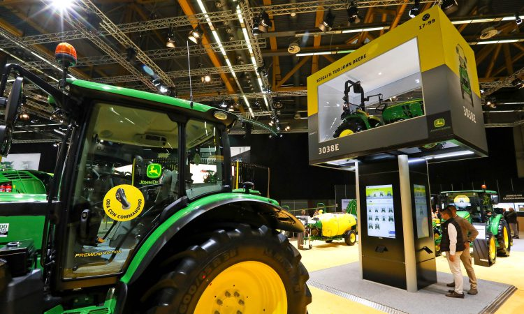 John Deere 'scales' new heights with its latest model