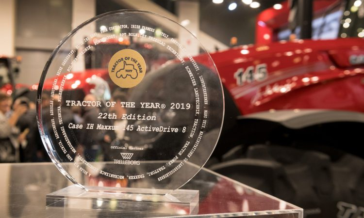 Case IH gets 'Tractor of the Year' award; but for which model?