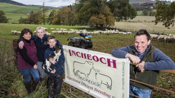 Perthshire farm announced as AgriScot Scottish Sheep Farm of the Year