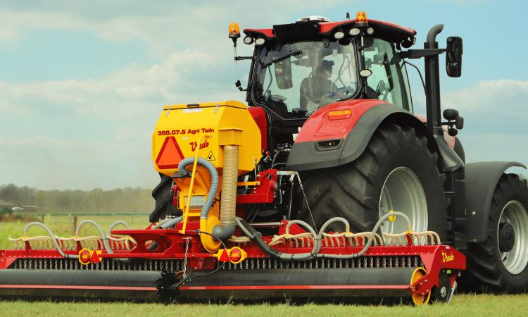 Reseeding by over-seeding is the vision of Vredo
