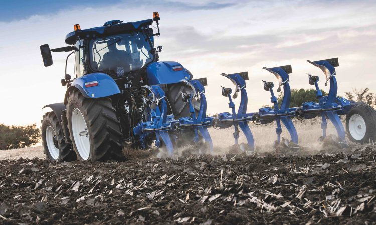 New Holland's 'blue' ploughs break ground across Europe