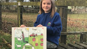 Top honours in farm poster competition head to Dumfriesshire and Lanarkshire