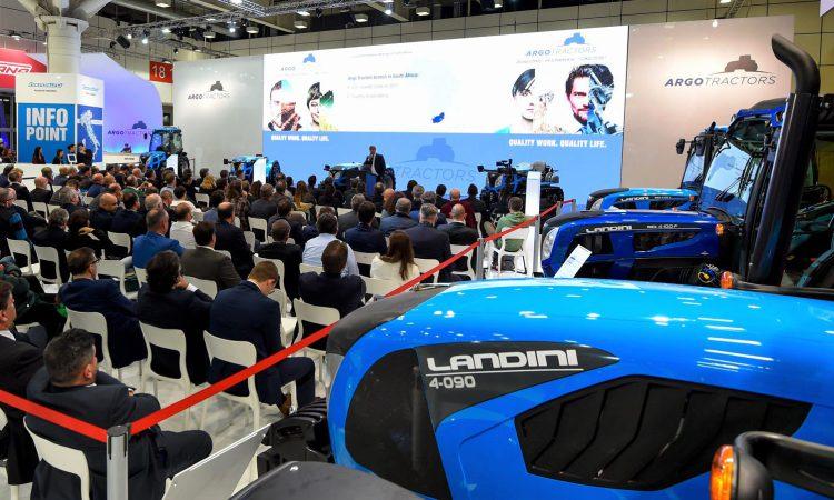 Argo Tractors targets €1 billionturnover within 5 years