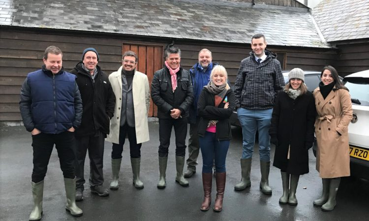 Swiss buyers experience the Welsh farming story
