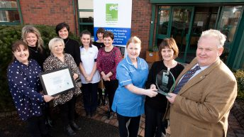 Farm Safety Partnership presents recognition award