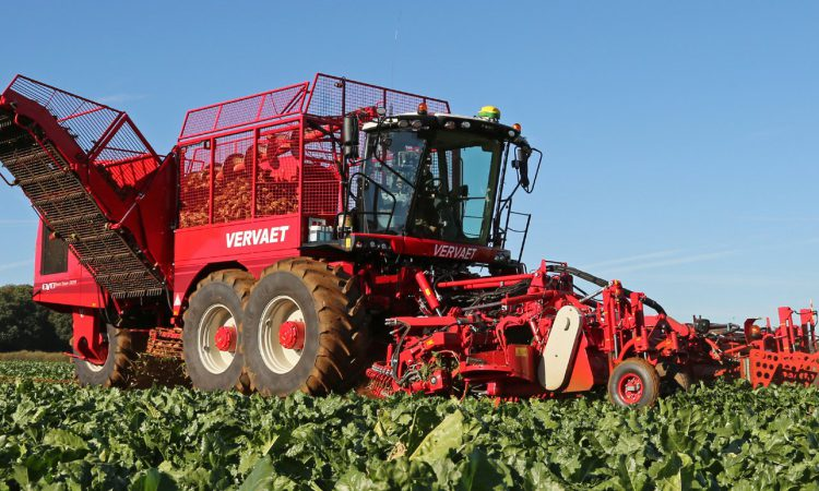 New-look beet harvesters to make UK working debut