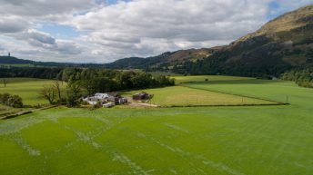 Traditional farm steading in the central belt of Scotland for sale in lots