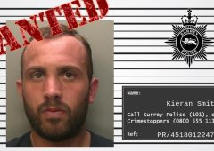 Wanted man believed to be working on UK dairy farm