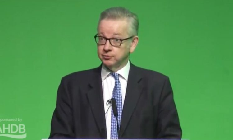 Gove vows to protect high farming standards as part of a Green Brexit