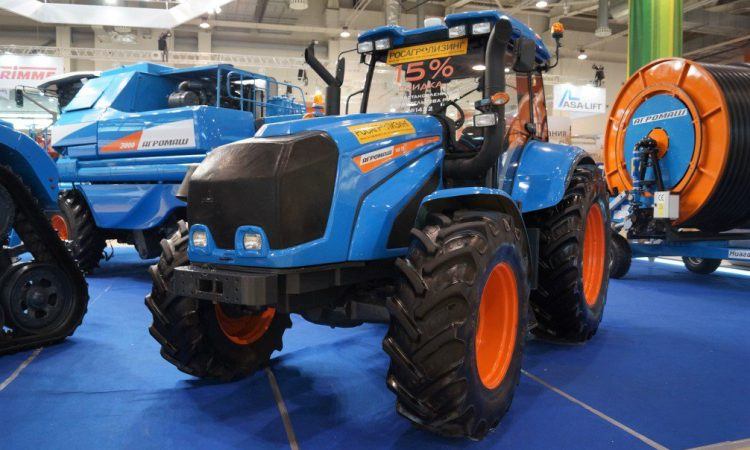 New 181hp tractor breaks cover at major shows