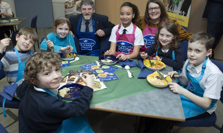 Lamb makes it on to the menu in Tay schools