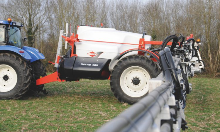 Herbicide reboot may be needed if spraying with hard water