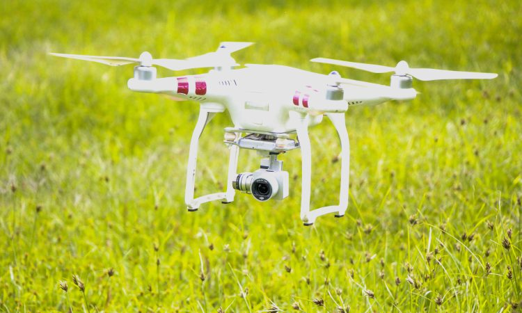 Checking and moving stock on the farm…with drones that bark