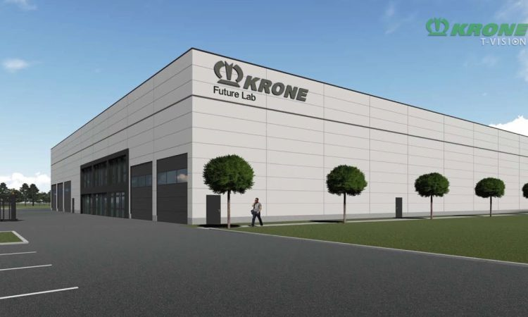 Krone turns the sod on new 'lab' for future machine testing