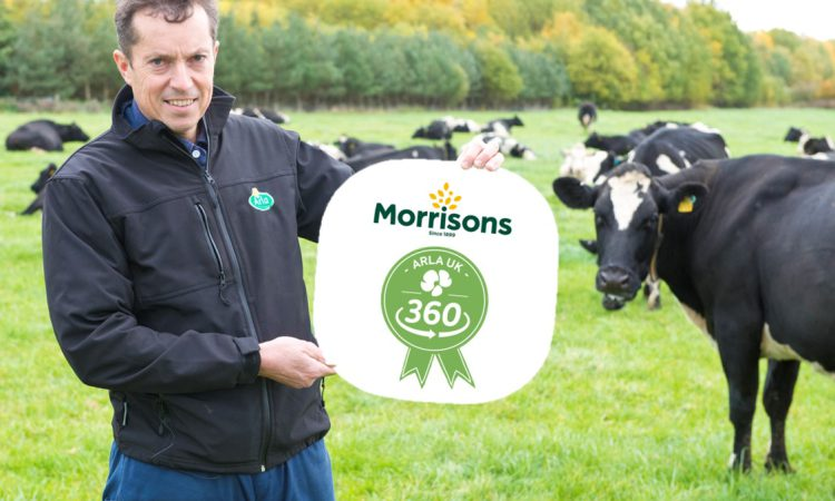 Morrisons joins Arla UK 360 farm standards programme