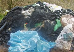 Union calls for 'emergency measures' to tackle Wales' agricultural plastic backlog