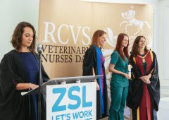 220 vet nurses welcomed to profession at London Zoo ceremonies
