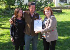 Galloway deer farmer granted Biosphere Certification