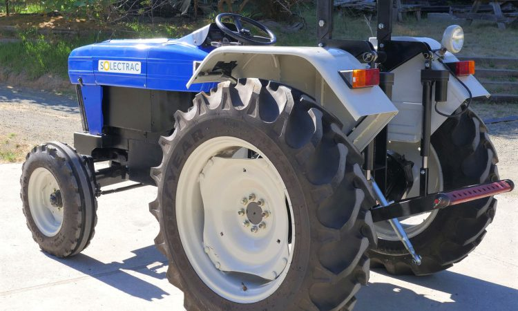 Fully-electric 'utility' tractor can run for 'up to 8 hours' on a charge