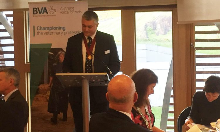 'Scottish veterinary community must work together in challenging times ahead'