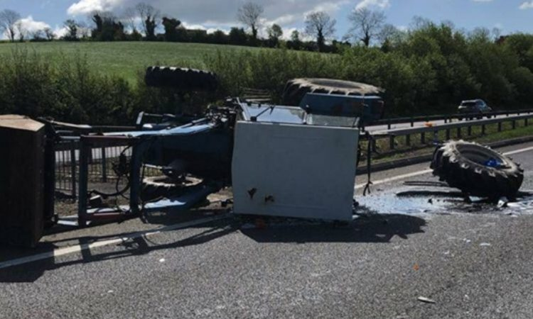Appeal for info following collision involving tractor