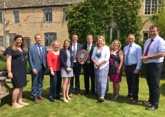 NFU Cymru staff awarded for charity fundraising efforts