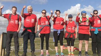 FUW charity walk boosts president's charity fund to £32,000