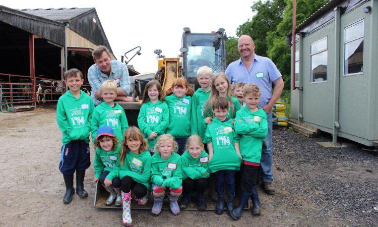 Award-winning dairy farmer opens gates to teach children about food