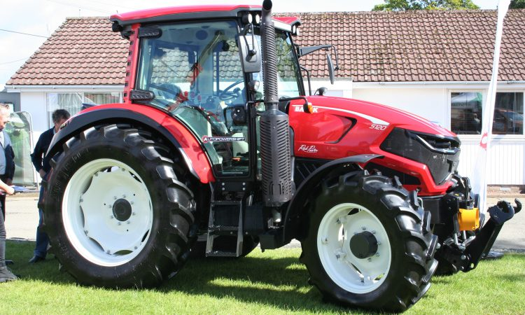 Edging closer: Turkish-built Basak tractors at Royal Highland Show