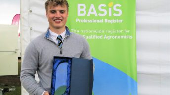 Genetic project clinches BASIS award for young agronomist