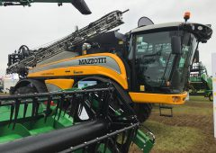 Owned by John Deere but built in Italy: New sprayers at Cereals 2019