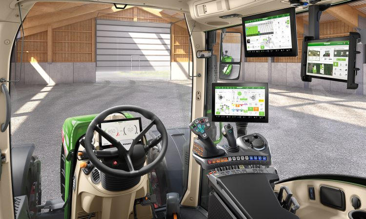 Latest Fendt 700 Vario series: Most high-tech tractor cab yet?