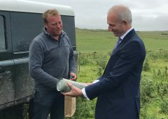 De facto Deputy Prime Minister welcomed to Islay farm
