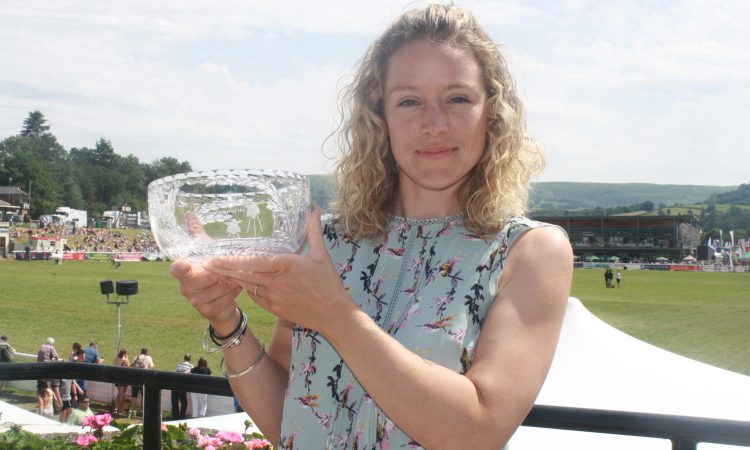 Young farmer crowned Wales Woman Farmer of the Year 2019