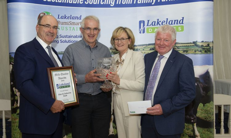Winners unveiled at Lakeland milk quality awards