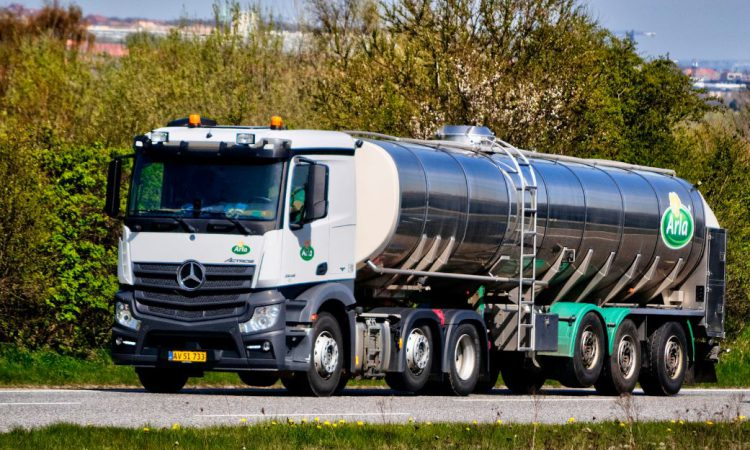 Slurry powered milk trucks; is this the future?