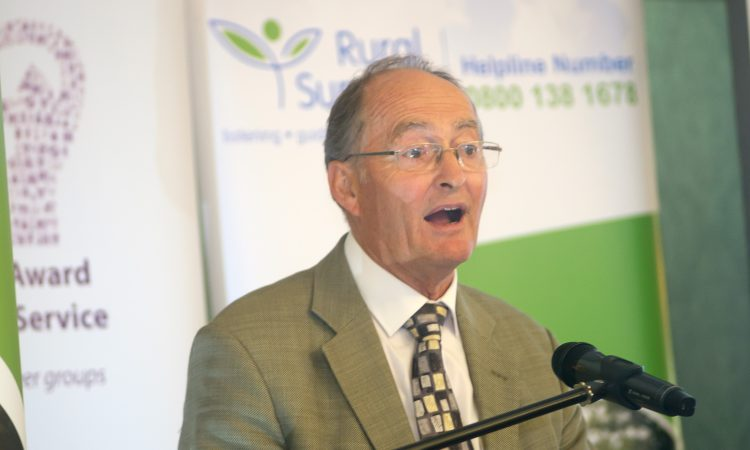 Rural Support volunteers receive top charity honour