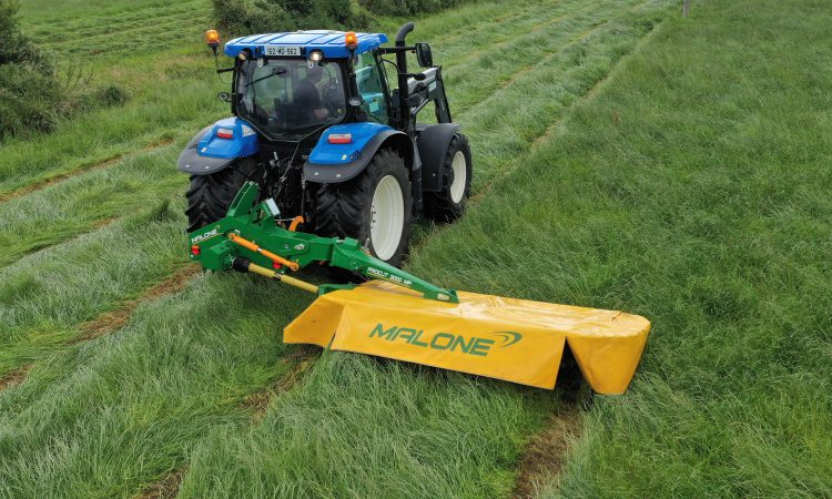Malone to 'level the playing field' with new mid-mounted mower